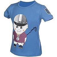 HKM–Camiseta infantil de King Clyde Blusa, todo el año, infantil, color azul, tamaño 98/104