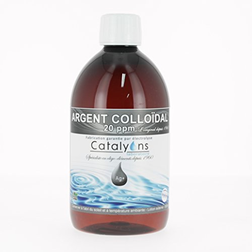 Catalyons - Argent 20 ppm Lotion Ionisée - 500 ml