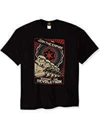Mad Engine Men's Revolution T-Shirt, Black, 2X