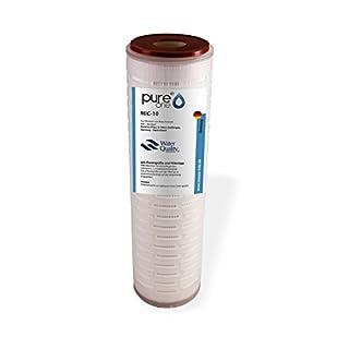 'PureOne Mic de 10boîtier rigide 0.2µm. Filtre à eau Cartouche filtre membrane F. résistantes 10pression. Ellen Filtre d'Agneau prouvée. Fontaine, eau, maison de surpression. Lavable, druckstabil
