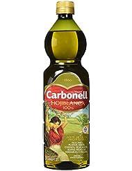 Aceite de oliva virgen extra carbonell monovarietal hojiblanca 1l en pet verde
