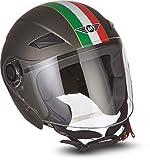 Moto Helmets U52 'Venice Titan' · Jet-Helm · Motorrad-Helm Roller-Helm Scooter-Helm Bobber...