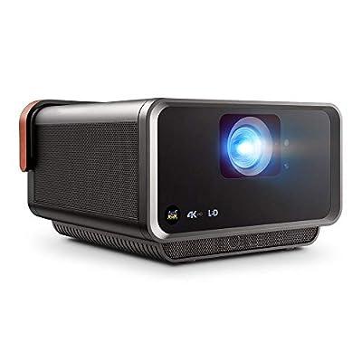 ViewSonic X10-4K UHD Short Throw Smart Portable LED Projector with Dual Harmon Kardon Speakers - Metallic Charcoal