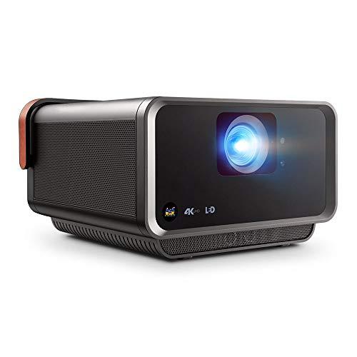 Viewsonic X10-4K UHD Heimkino LED Projektor (4K, 2.400 Lumen, Rec. 709, HDR, 2x HDMI, USB, USB-C, WLAN Konnektivität, 2x 8 Watt Lautsprecher, SD-Kartenleser) Schwarz