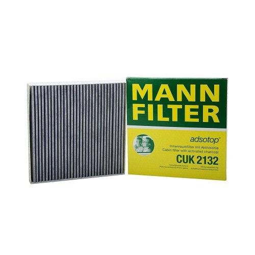 Original MANN-FILTER Innenraumfilter CUK 2132 – Pollenfilter mit Aktivkohle – Für PKW
