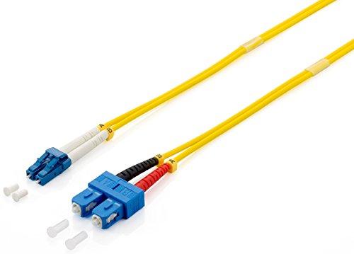 Preisvergleich Produktbild equip LC / s 9 / 125m 3.0 m 3 m LC SC gelb – Kabel,  LWL (LC,  SC,  männlich / männlich,  OS2,  gelb,  single-mode)