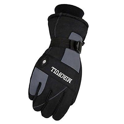 Warm Winddichte wasserdichte Ski-Handschuhe Ski-Ausrüstung Wintersport-Handschuhe für Männer, 04