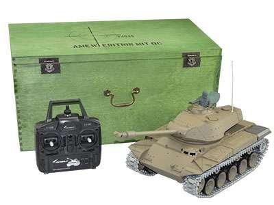 Walker Bulldog M41 R&S/2.4GHZ Metallketten/Metallgetriebe/QC von Amewi