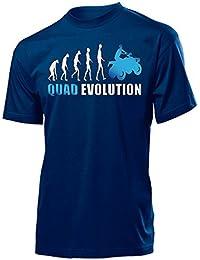Motorsport - QUAD EVOLUTION - Cooles Fun T-Shirt Herren S-XXL