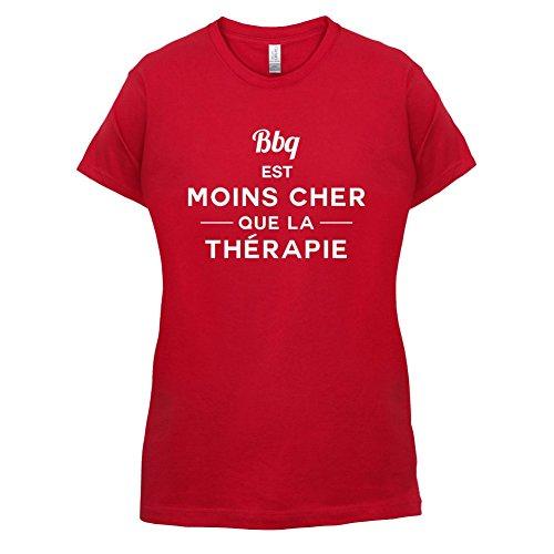 BBQ est moins cher que la thérapie - Femme T-Shirt - 14 couleur Rouge