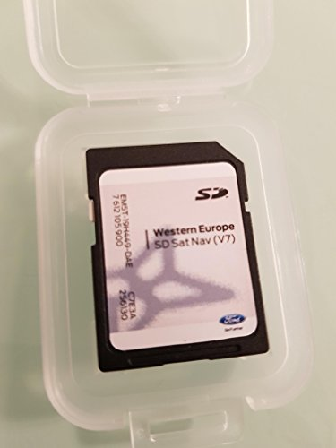 Karte SD GPS Ford MFD Sony Europa V72017, nicht Touchscreen Only Ford Gps