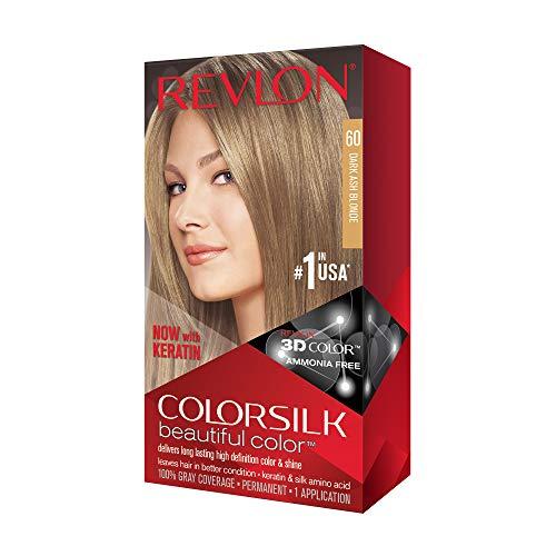 Revlon Colorsilk Hair Color 60 Rubio Oscuro Ceniza