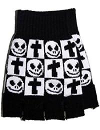 Fingerlose Handschuhe Grave Smiley