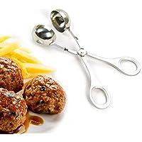 FOONEE Meatball Maker, Clip de Albóndiga de Acero Inoxidable/Pelletizer / Meatball Maker/Clip de Bola de Pescado, para Helado, Albóndigas o Bolas de Pastel