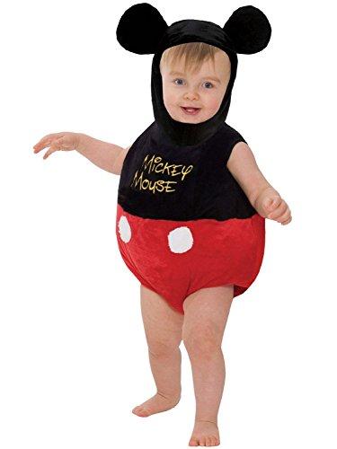 Disney - Tutina per travestimento da Topolino, incl. cappello, 18-24 mesi