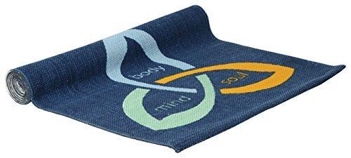 Anti Slip Cotton Yoga Mat – Mind, Body & Soul