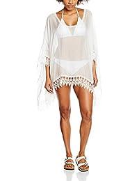 cnWay Cartas super sexy corte bajo halter del cortocircuito chaleco impresos mujeres blanco y negro atractivo de la camiseta blusa del V-cuello