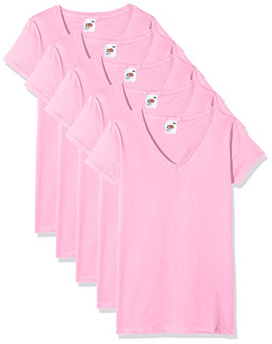 Fruit of the Loom Womens T-Shirt Pack Of 5
