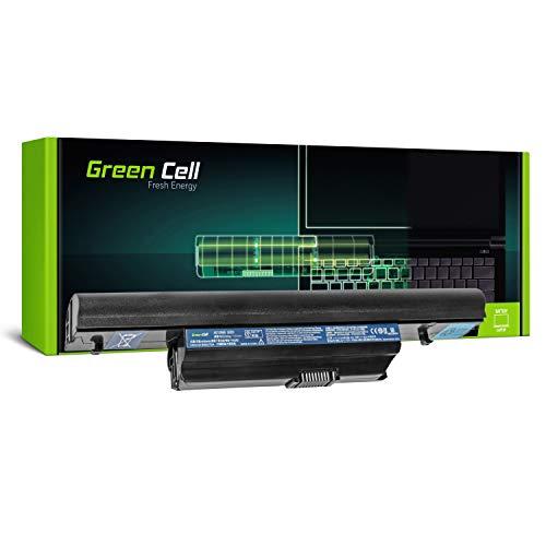 Green Cell Standard Serie AS10B75 AS10B31 Laptop Akku für Acer Aspire 3820T 5553 5625G 5745 5745G 5820 5820T 5820TG 7745 7745G (6 Zellen 4400mAh 10.8V Schwarz)