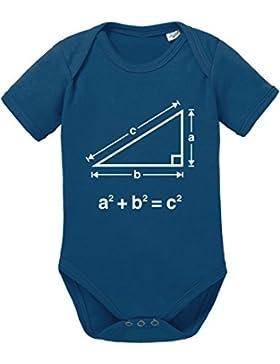 Satz des Pythagoras Baby Strampler Body