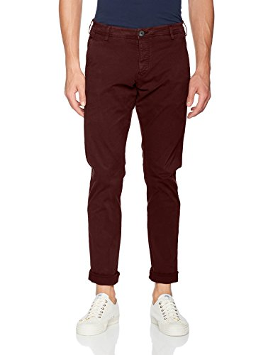 SELECTED HOMME Herren Hose Shhoneluca Decadent Choco St Pants Noos Braun (Decadent Chocolate)