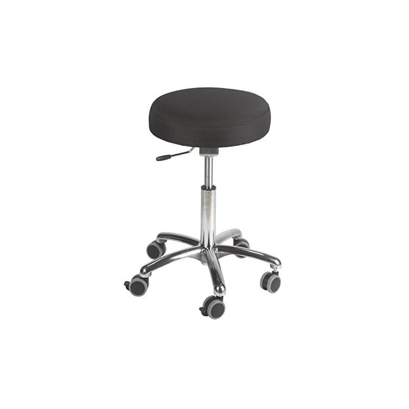 Jobri Unisex's Active F1462 Balance Seat-Black, 50 x 58 x 20 cm