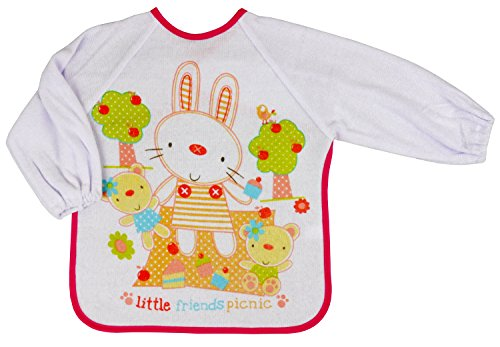 nursery-time-little-friends-picnic-long-sleeved-bib-o-s