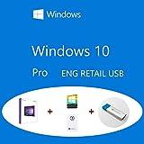 Windows 10 Pro Retail FQC-08799 Eng USB + Holográfico COA Clanto pack