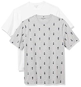 Amazon Essentials 2-Pack Crewneck T-Shirts