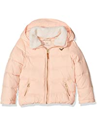 2c27e15d8ba02 Scotch   Soda R Belle Mädchen Jacke Mixed Jacket with Detachable Teddy  Collar