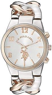 U.S. Polo Assn. Quartz Watch, Analog Display Watch for Women