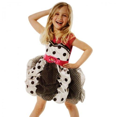 Mädchenkostüm Hannah Montana Kleid 5-6 Jahre Disney Puffball (Hannah Für Kostüme Montana Kinder)