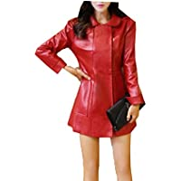 Tang Moine, Donne, Stile Europeo, PU Cuoio, Giacche, Cappotti,XL
