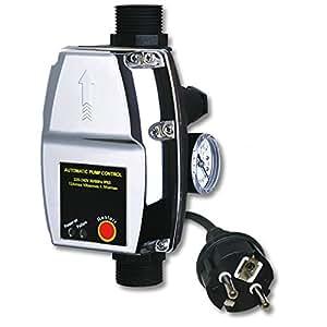 Commande de pompe Pressostat Installation domestique TPC15 Prise Schuk
