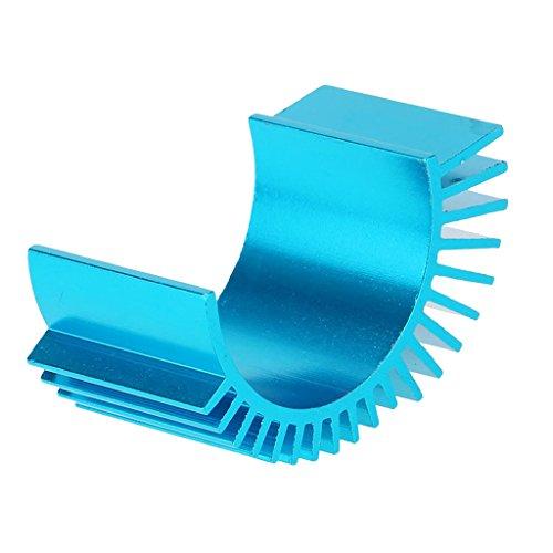 Sharplace 7012 Motor Heat Sink Alu Motorkühlkörper for 1/10 HSP RC Car 540/550 3650 Motor Blue