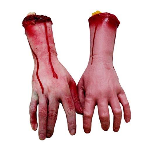 Tuttavie Halloween Scary Fake Orgel Streich Spielzeug Halloween Horror Props Haunted