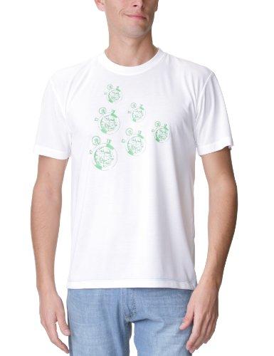Craft Performance Herren T-shirt training Freizeit active weiß - Blanc Vert Craft