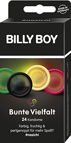Billy Boy Bunte Vielfalt - 24er Mix-Pack Kondome