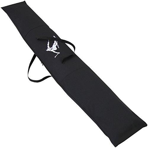 Skitasche Skicase Tasche Ski Bag Langlauf Skisack Skicover 170-180cm Schwarz NEU