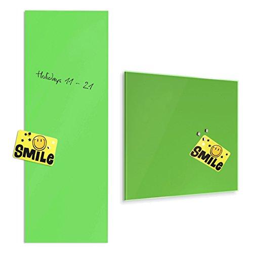 tableau-en-verre-master-of-boardsr-en-vert-2-tailles-verre-de-securite-magnetique-fixation-murale-de