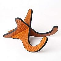 Lixada Portable Guitar Ukulele Violin Stand Hook Foldable Stand Bracket Holder for Guitars Christmas Gifts