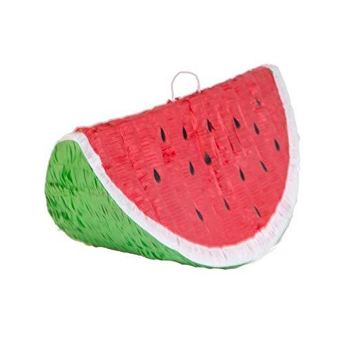 Amscan 9903135 Pinata Wassermelone Spielzeug, Mehrfarbig
