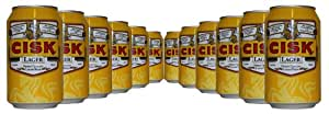 Cisk Finest Quality Maltese Lager Beer - 12 x 330ml