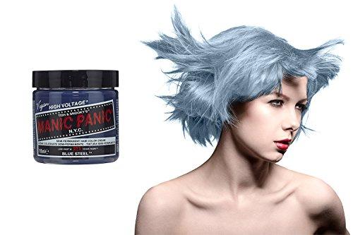 Manic Panic High Voltage Classic Cream Formula Haarfarbe (Blue (Panic Dye Hair Manic Blue)