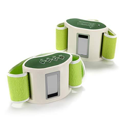 SPEUTO Elektrische Gürtel Bauchmassage Männer Und Frauen Gewichtsverlust Gürtel Fitness Hochfrequenzvibration Bauch Beine Und Arme (Infrarotwärme)