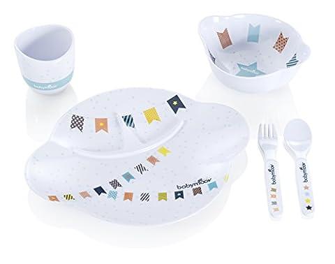Babymoov A005504 Geschirrset Party Lunch Boy,