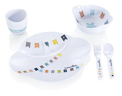 babymoov-set-di-stoviglie-per-bambino-multicolore-bunt-mit-muster-wei