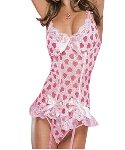 lotus-instyle-heart-print-sexy-lingerie-stretch-lace-bustier-with-padded-cups