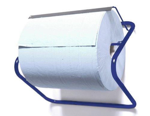 Papierrollenhalter Wandhalter, 35 x 50 x 25 cm, blau