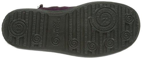 Ricosta Zefa Mädchen Hohe Sneakers Rot (merlot 360)